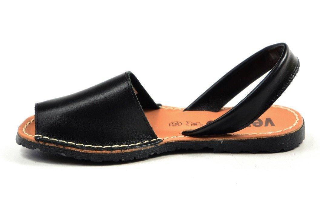 verano czarne sandały