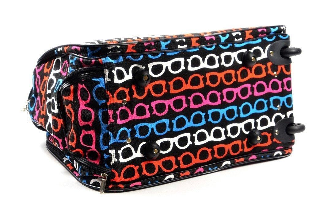 0a92c4f660ad9 TORBA podróżna bagaż podręczny czarna okulary