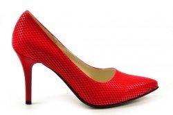 Czółenka 38 szpilki Victoria DEEX 419 czerwone