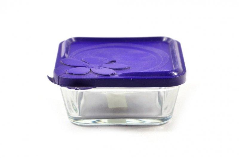 Pojemnik szklany do żywności TADAR 500ml kwadratowy
