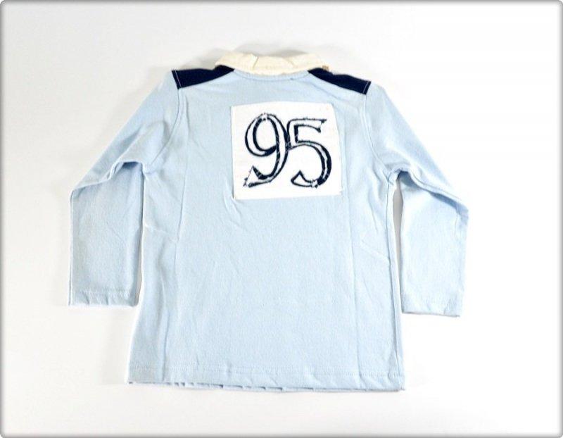 Blue Seven Bluzka długi rękaw niebieska WYPRZEDAŻ