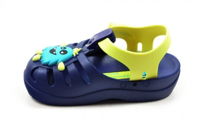 Sandałki 22/23 IPANEMA 82599 kids crocsy niebieskie żółte