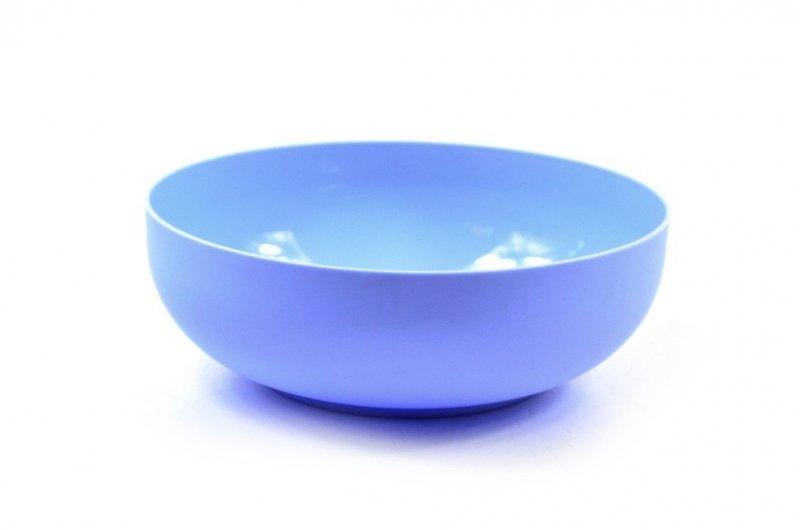Okrągła miska miseczka niebieska SAGAD