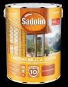 Sadolin Extra lakierobejca 5L CZERWIEŃ SZWEDZKA 98 drewna