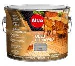 Altax olej do drewna 2,5L SZARY