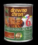 Drewnochron 2w1 Lakierobejca MAHOŃ 0,8L drewna do