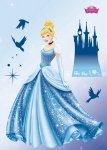 Naklejka Księżniczki Kopciuszek Disney Bajka Naklejki na ścianę ścienne