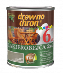 Drewnochron 2w1 Lakierobejca SZARY 5L drewna do