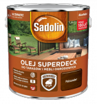 Sadolin Superdeck olej 10L PALISANDER 95 tarasów drewna do