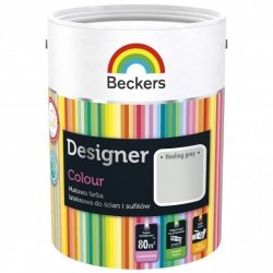 Beckers 5L HEALING GREY Designer Colour farba lateksowa