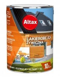 Altax Lakierobejca 5L KASZTAN Żywiczna Drewna Szybkoschnąca