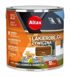 Altax Lakierobejca 2,5L BRĄZ Żywiczna Drewna Szybkoschnąca