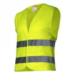 LAHTI PRO Kamizelka odblaskowa S żółta ostrzegawcza robocza
