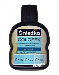 Śnieżka Colorex Pigment 100ml turkus błekitny 44 barwnik do farby
