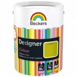 Beckers 2,5L WASABI Designer Colour farba lateksowa