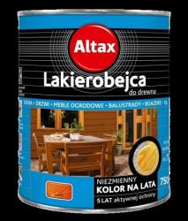 Altax Lakierobejca Drewna 0,75L MAHOŃ niebieska