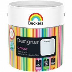 Beckers 2,5L NEUTRAL Designer Colour farba lateksowa