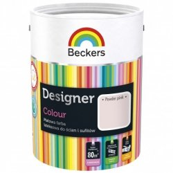 Beckers 2,5L POWDER PINK Designer Colour farba lateksowa