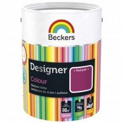 Beckers 2,5L VIVID PINK Designer Colour farba lateksowa