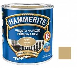 Hammerite Na Rdzę 0,7L ZŁOTY POŁYSK hamerite farba