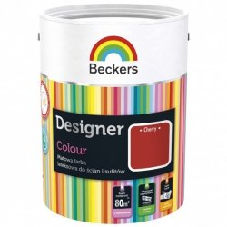 Beckers 5L CHERRY Designer Colour farba lateksowa