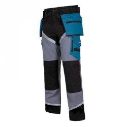 LAHTI PRO Spodnie robocze do pasa ochronne S odblaski