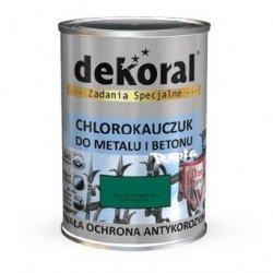 Dekoral Chlorokauczuk 4,5L ZIELEŃ KANADYJSKI RAL6016 farba emalia