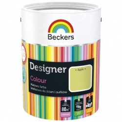 Beckers 5L APPLE Designer Colour farba lateksowa