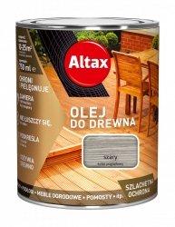 Altax olej do drewna 0,75L SZARY tarasów