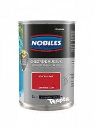 Chlorokauczuk 1L CZERWONY JASNY Nobiles farba emalia