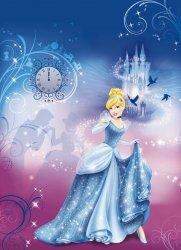 Fototapeta Dzieci 184x254 4-407 Kopciuszek Księżniczka Disney Princess Noc Księżniczek