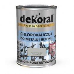 Dekoral Chlorokauczuk 10L POPIELATY ŚREDNI RAL7038 farba emalia