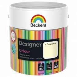 Beckers 2,5L PANNA COTTA Designer Colour farba lateksowa