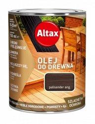 Altax olej do drewna 0,75L PALISANDER ANGIELSKI tarasów