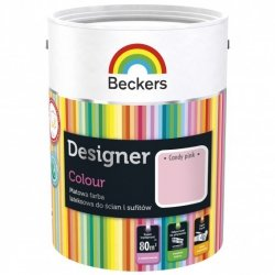 Beckers 2,5L CANDY PINK Designer Colour farba lateksowa