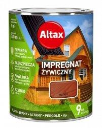 Altax Impregnat 0,75L MAHOŃ Żywiczny Drewna Szybkoschnący