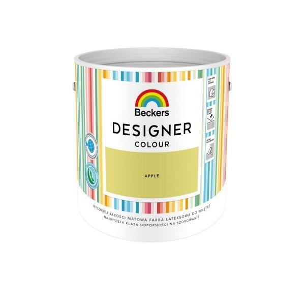 Beckers 2,5L APPLE Designer Colour farba lateksowa