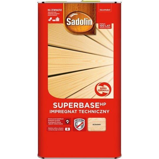 Sadolin SUPER-Base HP 5L impregnat techniczny drewna grunt