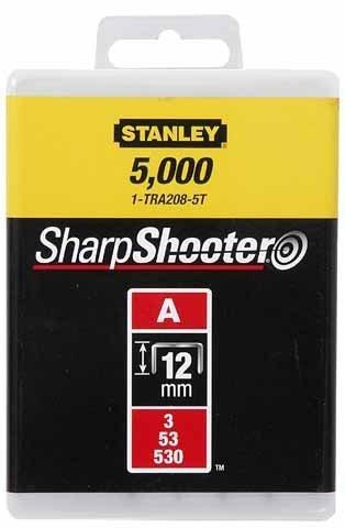 STANLEY Zszywki typ A 12mm 1000 szt zszywka 1-TRA208T