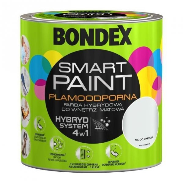 Bondex Smart Paint 2,5L NIC DO UKRYCIA