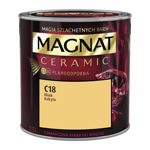 MAGNAT Ceramic 2,5L C18 Blask Kalcytu