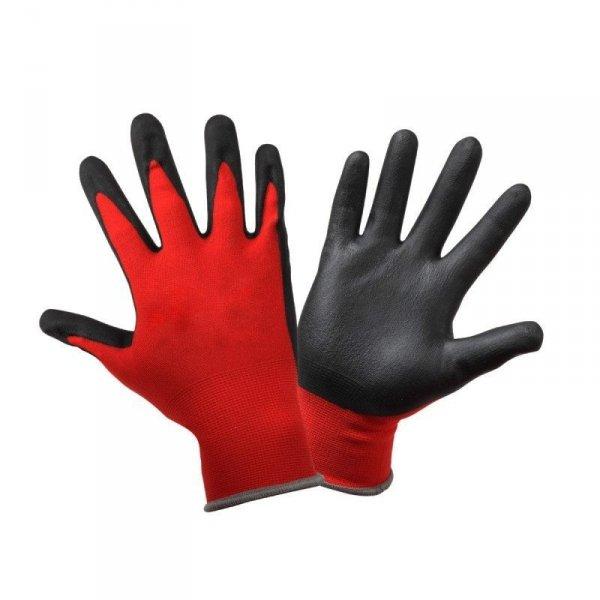 Rękawice ochronne robocze porowaty lateks roz. 8 M