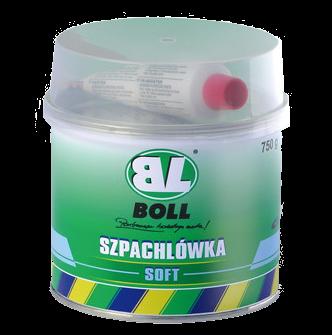 BOLL Szpachla Szpachlówka Soft Miękka 750g Samochodowa