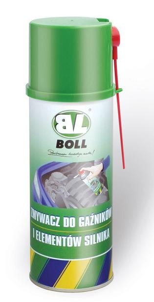BOLL Zmywacz Gaźników Elementów Silnika 400ml Spray Środek Preparat do