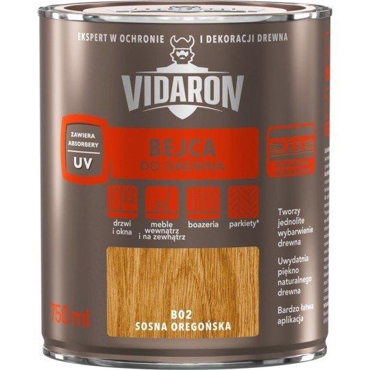 Vidaron Bejca 0,75L B02 SOSNA OREGOŃSKA do drewna