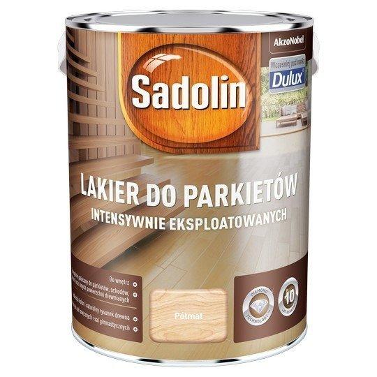 Sadolin Lakier Diamond PÓŁMAT 5L parkietu Dulux drewna intensywnie eksploatowanych