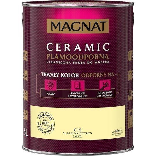 MAGNAT Ceramic 5L C15 Subtelny Cytryn