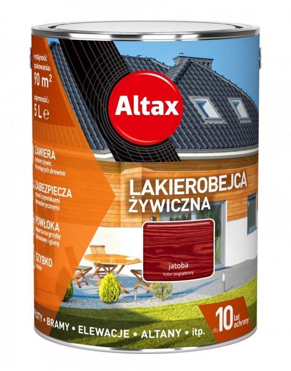 Altax Lakierobejca 5L JATOBA Żywiczna Drewna Szybkoschnąca