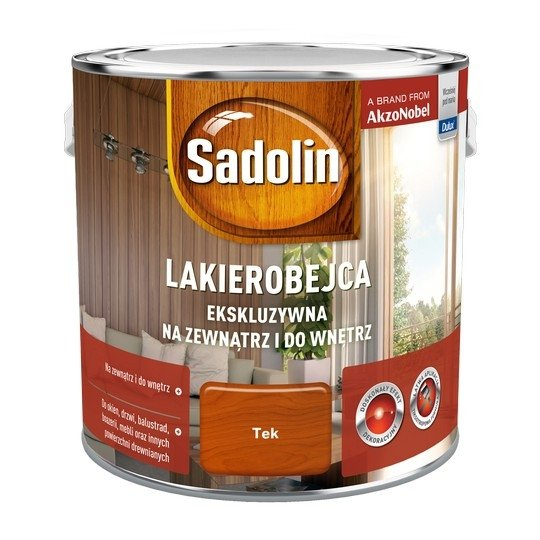 Sadolin Ekskluzywna lakierobejca 2,5L TIK TEK TEAK drewna