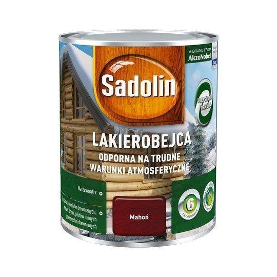 Sadolin Odporna lakierobejca 0,75L MAHOŃ drewna